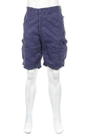Ανδρικό κοντό παντελόνι Japan Rags by Le Temps des Cerises, Μέγεθος L, Χρώμα Μπλέ, Βαμβάκι, Τιμή 28,90€