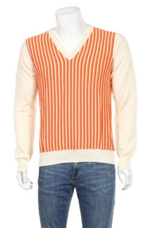 Ανδρικό πουλόβερ Armand Ventilo, Μέγεθος L, Χρώμα Εκρού, Βαμβάκι, Τιμή 23,31€