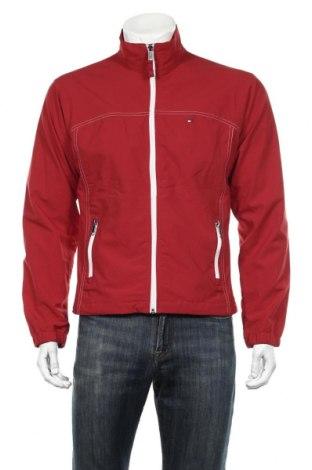 Мъжко яке Tommy Hilfiger, Размер S, Цвят Червен, 52% полиамид, 48% полиестер, Цена 66,83лв.