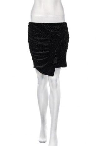Пола Zara Trafaluc, Размер L, Цвят Черен, Полиестер, Цена 5,78лв.