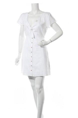 Рокля Abercrombie & Fitch, Размер M, Цвят Бял, Памук, Цена 53,30лв.
