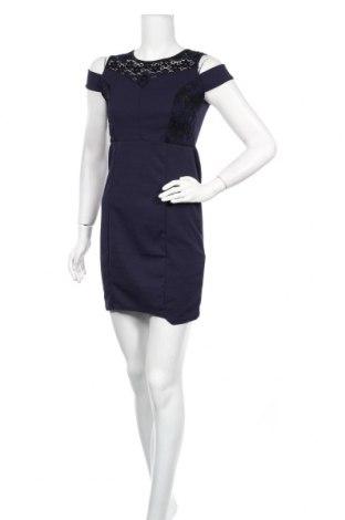 Φόρεμα Famous, Μέγεθος M, Χρώμα Μπλέ, 95% πολυεστέρας, 5% ελαστάνη, Τιμή 9,74€