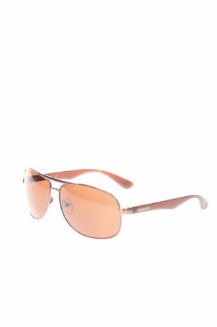 Слънчеви очила Calvin Klein, Цвят Златист, Цена 84,50лв.