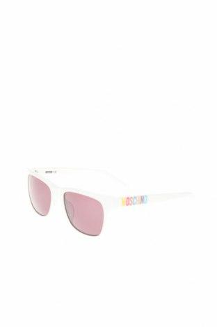 Слънчеви очила Moschino, Цвят Бял, Цена 95,40лв.