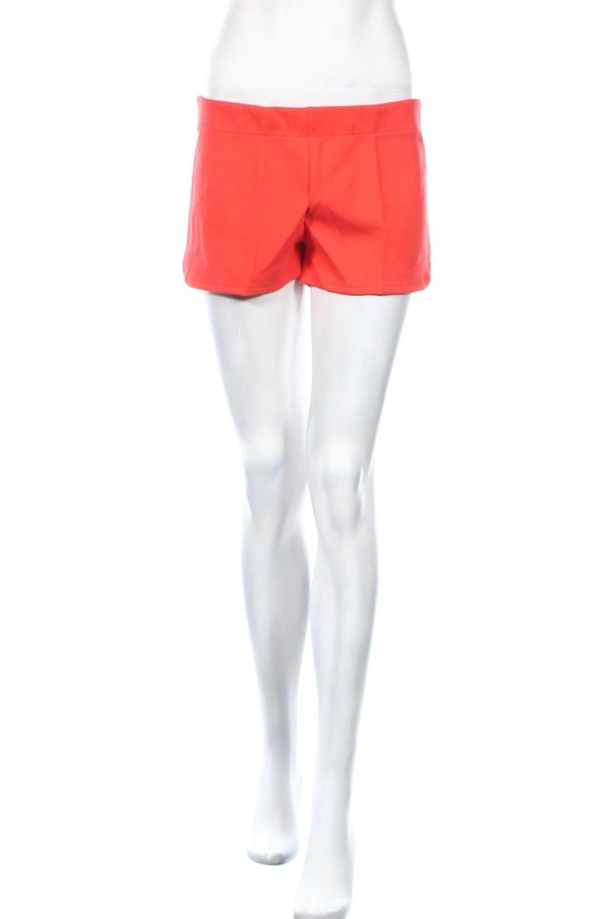 Дамски къс панталон Le Coq Sportif, Размер M, Цвят Червен, 85% памук, 15% полиестер, Цена 16,52лв.