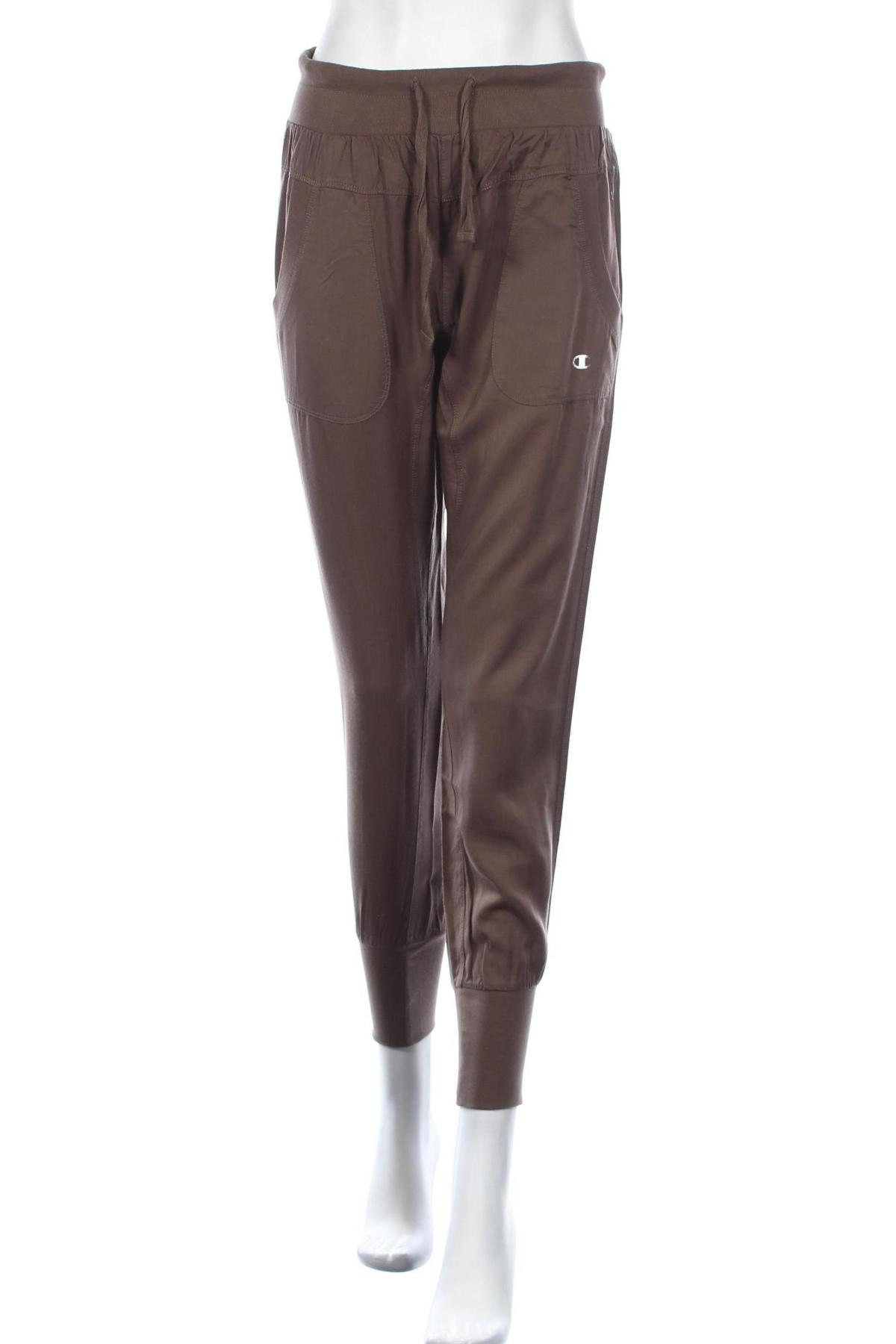 Дамски спортен панталон Champion, Размер S, Цвят Зелен, Лиосел, Цена 59,25лв.