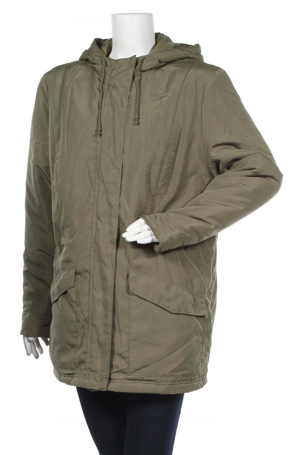 Дамско яке Bpc Bonprix Collection, Размер XL, Цвят Зелен, Полиестер, Цена 40,32лв.