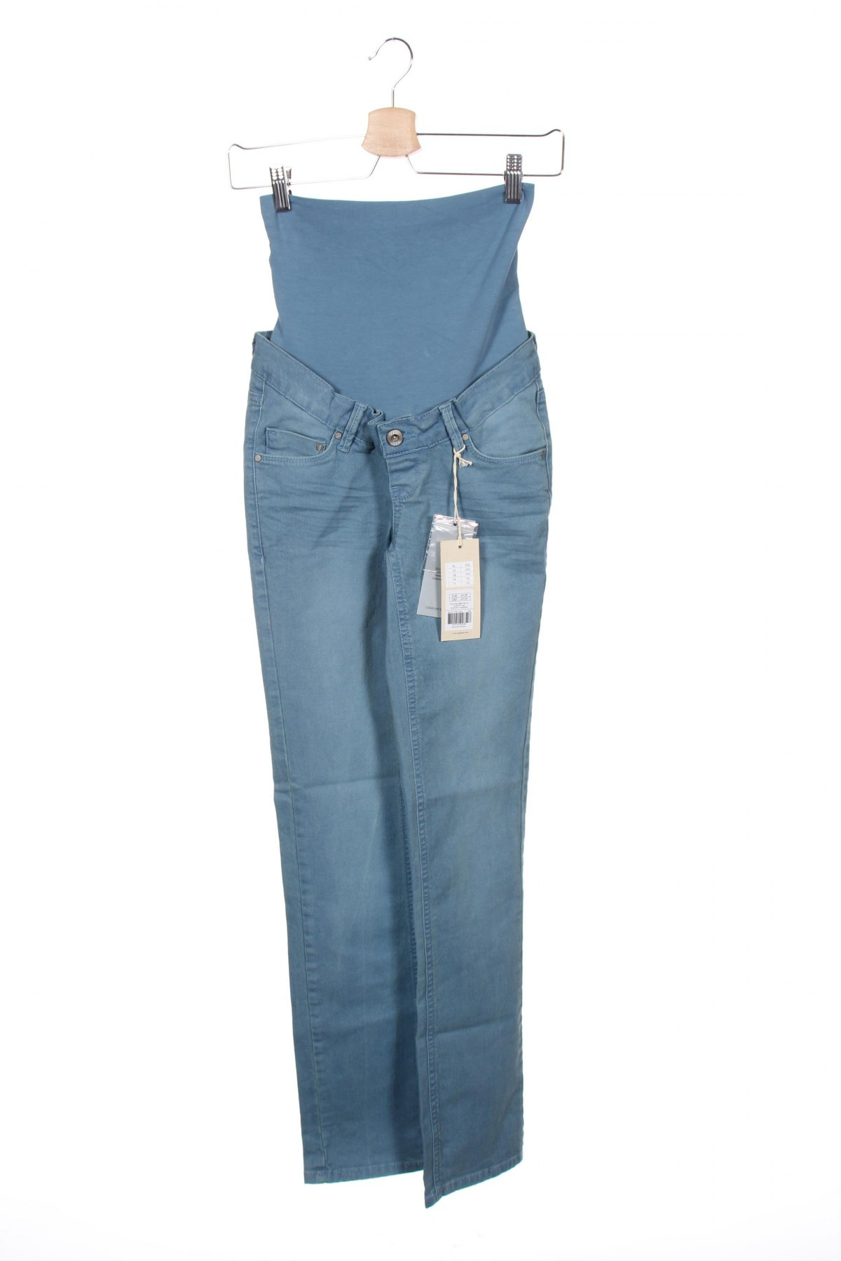 Дънки за бременни Noppies, Размер XXS, Цвят Син, 97% памук, 3% еластан, Цена 66,75лв.