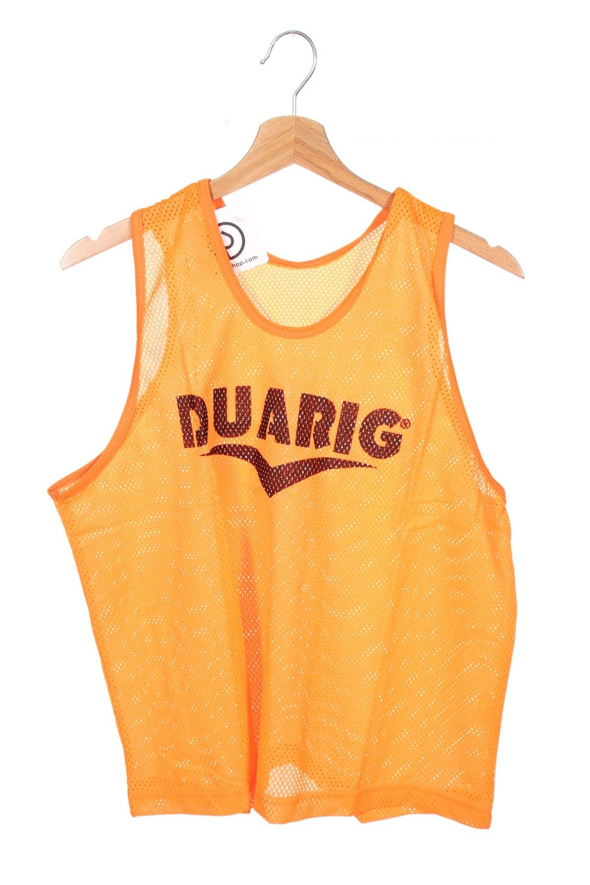 Μπλουζάκι αμάνικο παιδικό Duarig, Μέγεθος 15-18y/ 170-176 εκ., Χρώμα Πορτοκαλί, Πολυεστέρας, Τιμή 2,38€