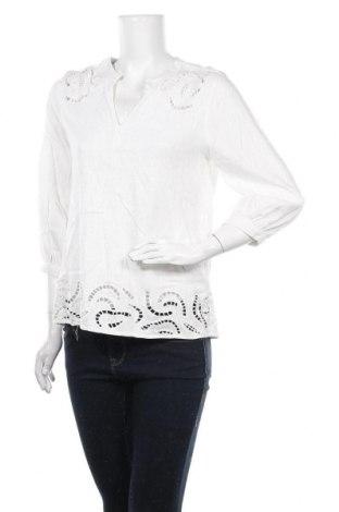 Дамска блуза Anany, Размер S, Цвят Бял, Памук, Цена 38,35лв.