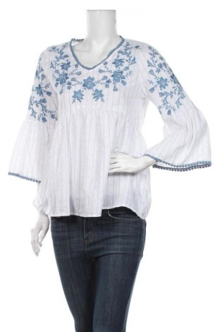 Дамска блуза Anany, Размер S, Цвят Бял, Памук, Цена 25,20лв.