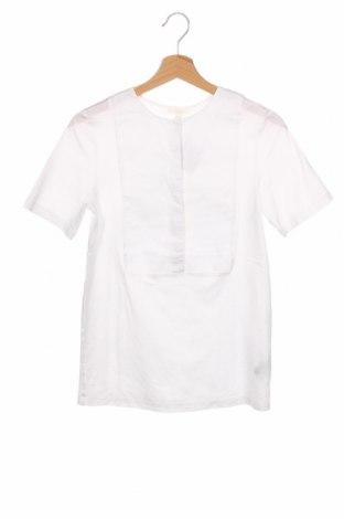 Дамска блуза COS, Размер XS, Цвят Бял, Памук, Цена 33,60лв.