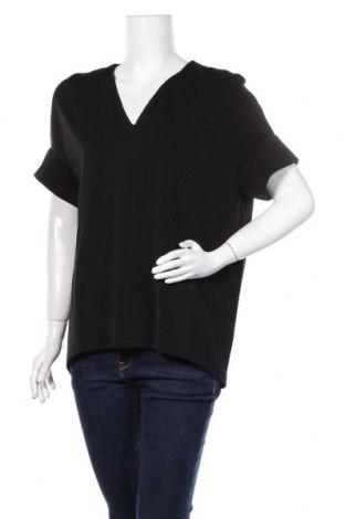 Дамска блуза COS, Размер S, Цвят Черен, 77% вискоза, 20% полиестер, 3% еластан, Цена 29,40лв.