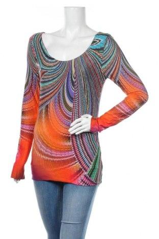 Дамска блуза Class International, Размер M, Цвят Многоцветен, 95% вискоза, 5% еластан, Цена 24,15лв.