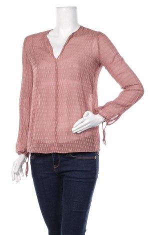 Дамска блуза Massimo Dutti, Размер S, Цвят Розов, Цена 29,25лв.