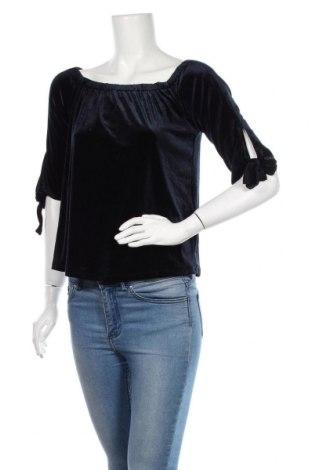 Bluză de femei ONLY, Mărime XS, Culoare Albastru, 92% poliester, 8% elastan, Preț 59,68 Lei