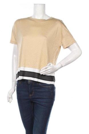 Bluză de femei Tom Tailor, Mărime S, Culoare Bej, Lyocell, Preț 104,93 Lei