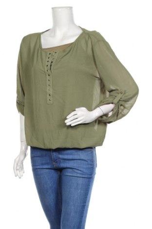 Дамска блуза Y.Yendi, Размер M, Цвят Зелен, Цена 13,23лв.