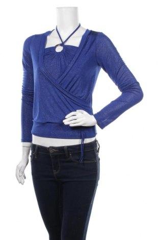 Дамска блуза Y.Yendi, Размер M, Цвят Син, 92% полиестер, 8% еластан, Цена 15,12лв.