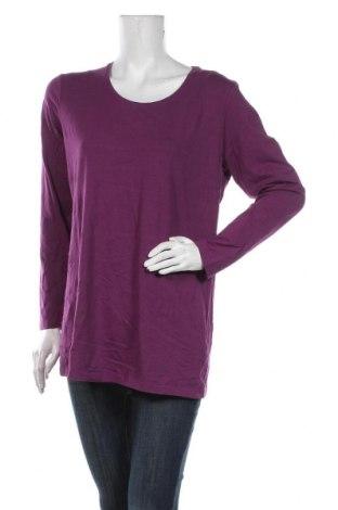 Bluzka damska Yessica, Rozmiar XL, Kolor Fioletowy, 95% bawełna, 5% elastyna, Cena 51,00zł