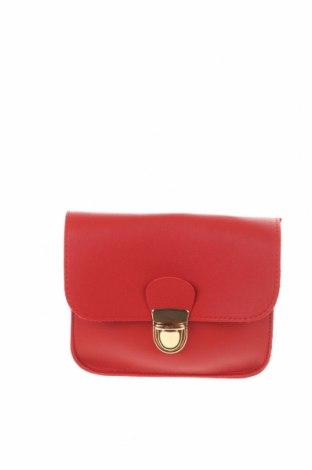 Дамска чанта, Цвят Червен, Еко кожа, Цена 21,84лв.
