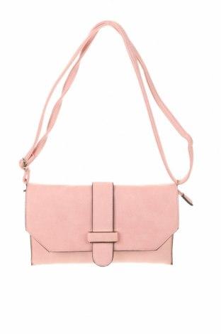 Дамска чанта, Цвят Розов, Еко кожа, Цена 26,46лв.