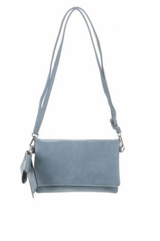 Γυναικεία τσάντα, Χρώμα Μπλέ, Δερματίνη, Τιμή 18,19€