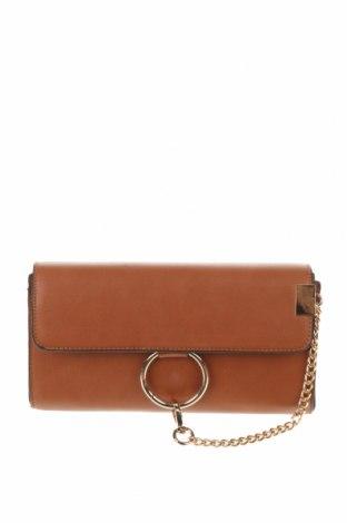Γυναικεία τσάντα, Χρώμα Καφέ, Δερματίνη, Τιμή 18,19€