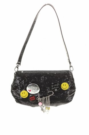 Geantă de femei Braccialini, Culoare Negru, Textil, piele ecologică, Preț 165,79 Lei