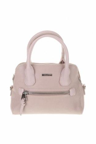 Γυναικεία τσάντα David Jones, Χρώμα Ρόζ , Δερματίνη, Τιμή 18,84€