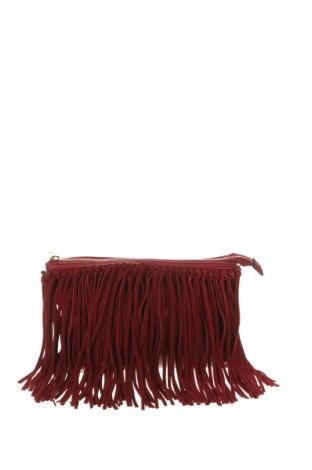 Γυναικεία τσάντα H&M, Χρώμα Κόκκινο, Δερματίνη, φυσικό σουέτ, Τιμή 17,90€