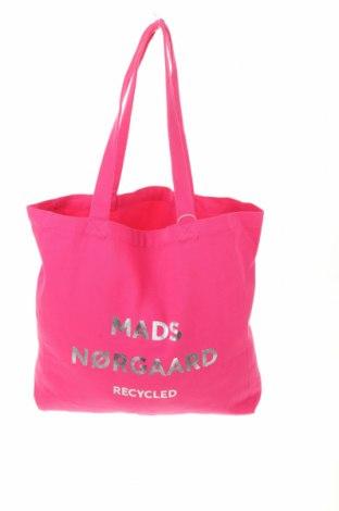 Geantă de femei Mads Norgaard, Culoare Roz, Textil, Preț 102,14 Lei
