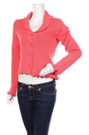 Дамска жилетка Apart, Размер S, Цвят Червен, 50% памук, 50% полиакрил, Цена 39,00лв.