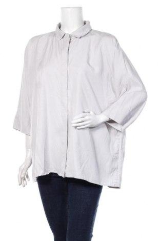 Дамска риза COS, Размер M, Цвят Сив, 100% лиосел, Цена 29,40лв.
