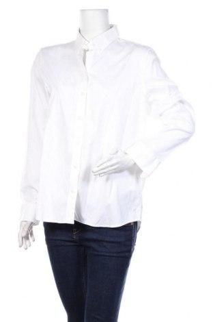 Damska koszula Gant, Rozmiar XL, Kolor Biały, Bawełna, Cena 110,40zł