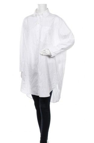 Damska koszula Zara, Rozmiar S, Kolor Biały, Bawełna, Cena 72,50zł