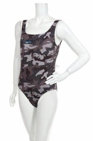 Dámské plavky  Nike, Velikost L, Barva Šedá, 89% polyester, 11% elastan, Cena  781,00Kč