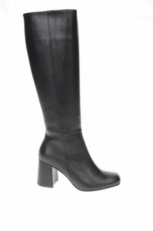 Γυναικείες μπότες, Μέγεθος 36, Χρώμα Μαύρο, Δερματίνη, Τιμή 29,82€