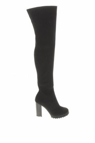 Дамски ботуши Aldo, Размер 37, Цвят Черен, Текстил, Цена 90,35лв.