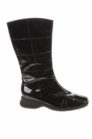 Дамски ботуши Ara, Размер 39, Цвят Черен, Естествена кожа, Цена 43,50лв.