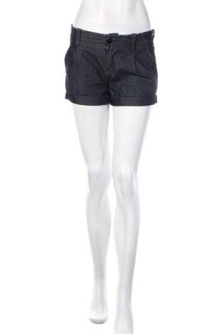 Дамски къс панталон Gas, Размер S, Цвят Син, 63% памук, 37% полиестер, Цена 31,50лв.