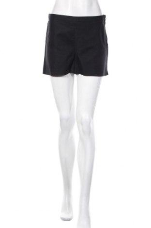 Дамски къс панталон H&M, Размер M, Цвят Черен, 97% памук, 3% еластан, Цена 20,25лв.
