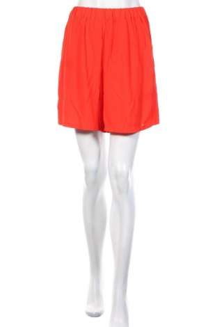 Дамски къс панталон Minimum, Размер S, Цвят Червен, Вискоза, Цена 21,75лв.