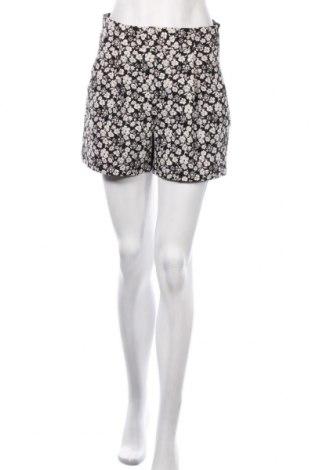 Дамски къс панталон Zara, Размер S, Цвят Черен, 61% памук, 24% полиамид, 9% полиестер, Цена 33,60лв.