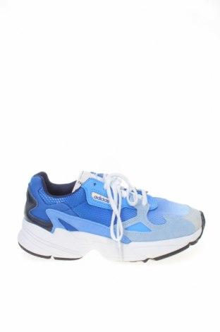 Γυναικεία παπούτσια Adidas Originals, Μέγεθος 37, Χρώμα Μπλέ, Φυσικό σουέτ, κλωστοϋφαντουργικά προϊόντα, δερματίνη, Τιμή 68,19€