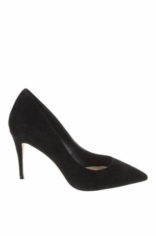 Дамски обувки Aldo, Размер 39, Цвят Черен, Естествен велур, Цена 83,85лв.