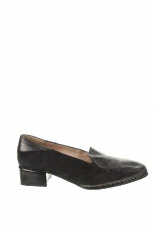 Дамски обувки Ara, Размер 41, Цвят Черен, Естествена кожа, естествен велур, Цена 43,07лв.
