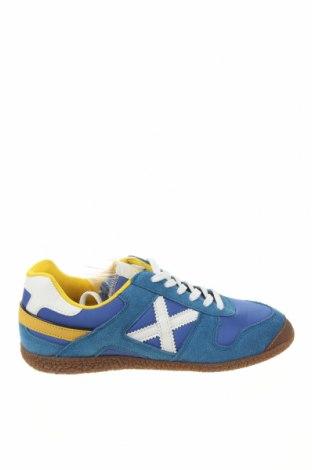 Γυναικεία παπούτσια Munich, Μέγεθος 39, Χρώμα Μπλέ, Φυσικό σουέτ, κλωστοϋφαντουργικά προϊόντα, δερματίνη, Τιμή 34,56€