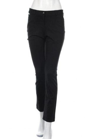 Дамски панталон Alfani, Размер XS, Цвят Черен, 60% вискоза, 35% полиамид, 5% еластан, Цена 27,30лв.