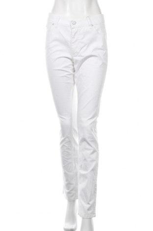 Дамски панталон Angels, Размер M, Цвят Бял, 98% памук, 2% еластан, Цена 51,45лв.